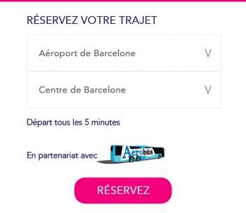 Carte Transport Barcelone Prix.Bus Navette Aeroport De Barcelone El Prat Barcelone Centre Ville