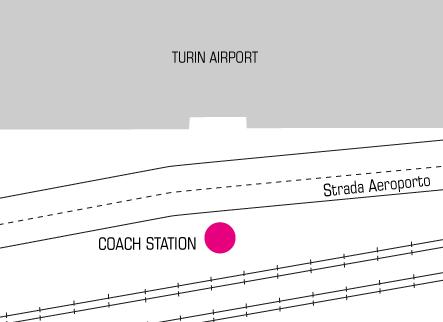 Terravision bus Turin