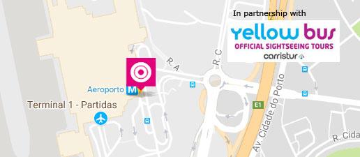 Fermate Terravision all'Aeroporto di Lisbona